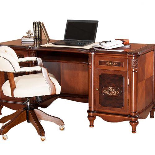 11. Colectia Larisa - Cabinet de lucru - masa de birou Clasic