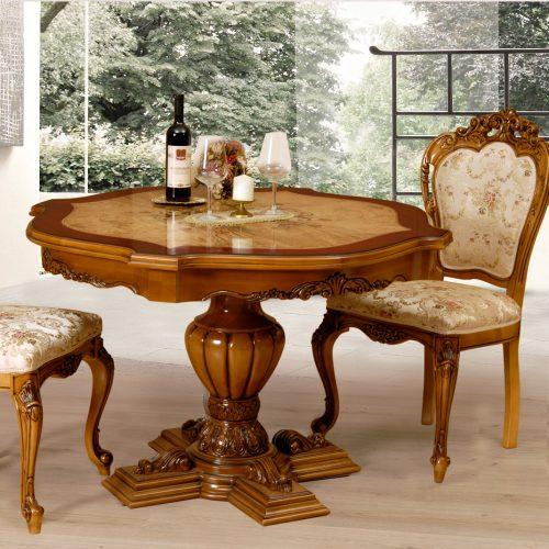 11. Colectia Monalisa - Sufargerie - masa, scaune