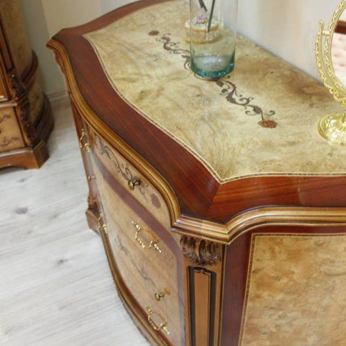 12. Colectia Monalisa - Dormitor comoda