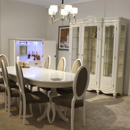 14.Colectia Larisa - sufragerie alb