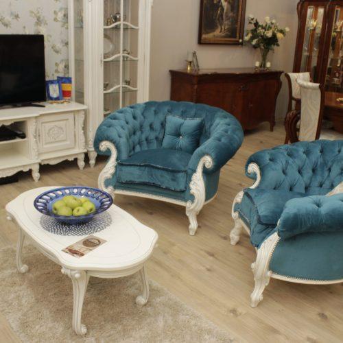 22. Colectia Verona - Fotolii - albastru