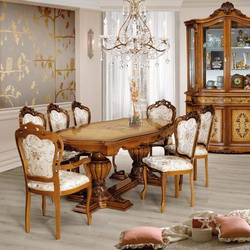 3. Colectia Monalisa - Sufragerie - masa, scaune