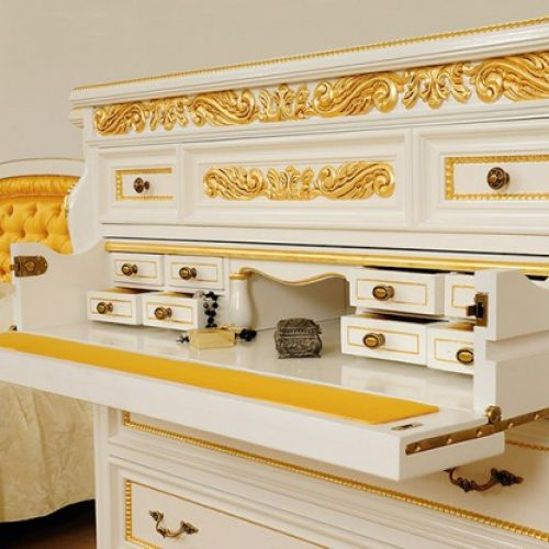 8. Colectia Verona - dormitor Comoda-detalii-Exquisite-Luxury-